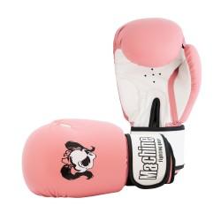 Dámské boxerské rukavice Machine Skull - růžové